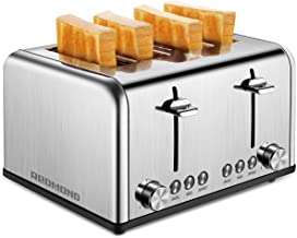 copper 4 slice toaster