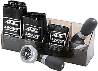 ADC 705GPK-BK Multikuf 705 - Kit de práctica general multicuff con 804 palmas aneroide esfigmomanómetro, plexiglás, color negro