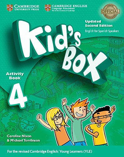 Kid's Box Level 4 Activity Book with CD ROM and My Home Booklet Updated English for Spanish Speakers
