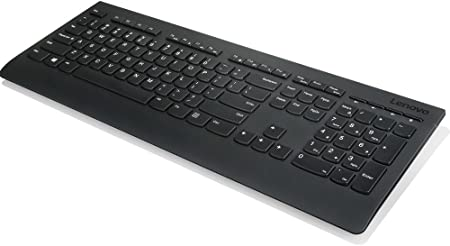 Lenovo 4 X 30h56854 RF Wireless QWERTZ Alemán Teclado – Teclados (RF Wireless, Oficina, QWERTZ, Alemán, Inalámbrico, PC/Server)