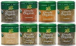 Simply Organic Basics 8 Spices Gift Set