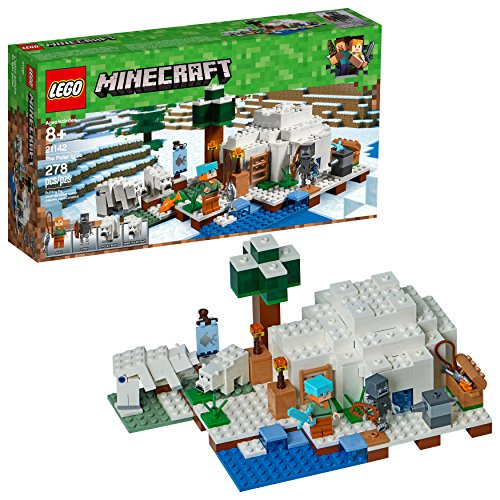 LEGO Minecraft The Polar Igloo 21142 Building Kit (278 Pieces) (Discontinued by...