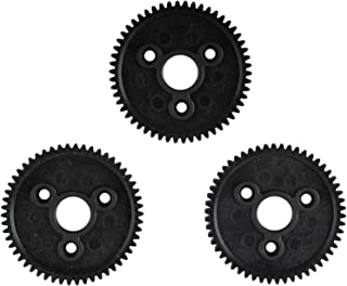 54T 0.8 32 Pitch Spur (3pcs) Compatible with Traxxas Gear Slash Stampede 4x4 VXL Rally VXL
