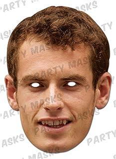 mask-arade パーティーマスク【アンディ・マレー/Andy Murray】
