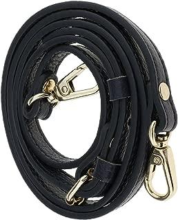 Prettyia DIY Leather Bag Strap Shoulder Bag Accs Belt Replacement Handle Blue 1cm