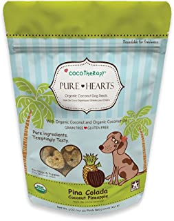 Cocotherapy Pure Hearts Coconut Cookies – Pina Colada (Pineapple Coconut), (1 Pouch), 5 Oz.