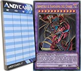 Konami Yu-Gi-Oh! ARMITYLE Il Fantasma del Chaos - Ultra Rara - DUSA IT099 con 1 Segnapunti ANDYCARDS
