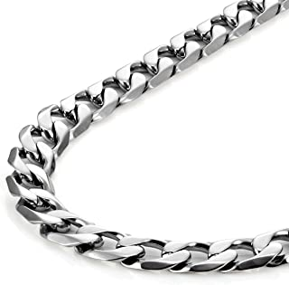 Urban Jewelry Classic Mens Necklace 316L Stainless Steel Silver Chain Color 18
