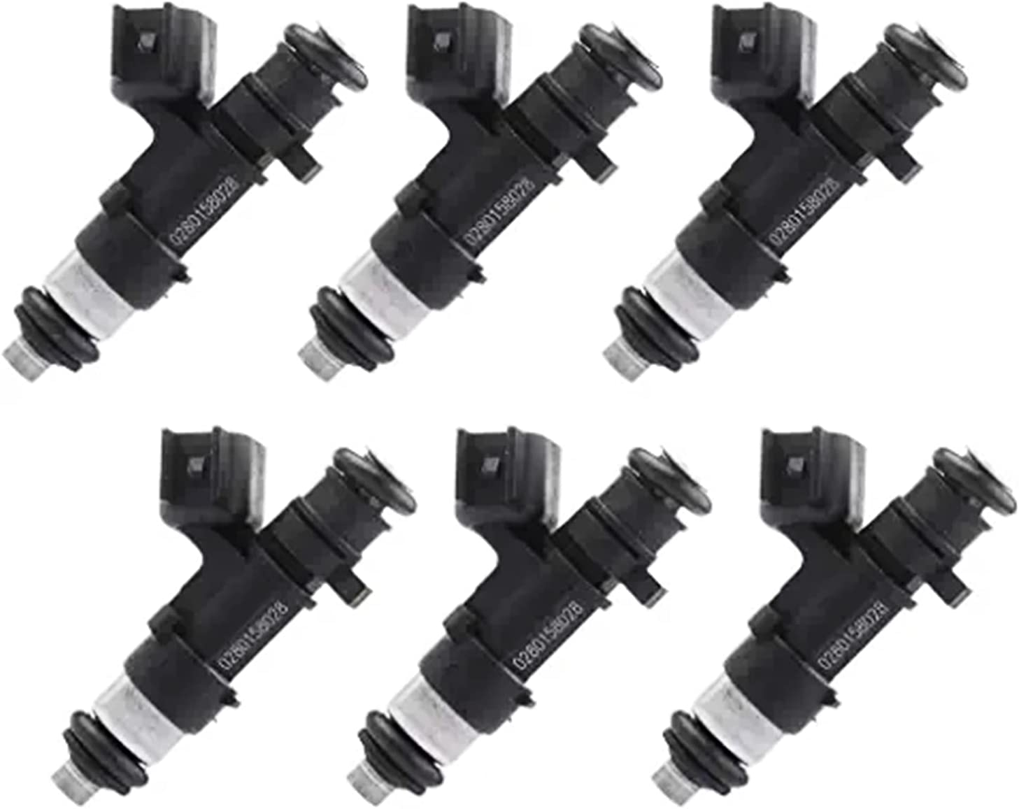 COPACHI 6PCS 0280158028 04591986AA Fuel Injector Fits For Dodge- Max 84% Quality inspection OFF