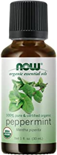 Now Foods Organic Essential Oils, Peppermint, 30ml