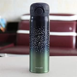 Thermos bottle travelmug cute coffeecup stainless Double...
