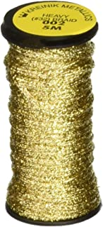 Kreinik No.32 Heavy Metallic Braid Trim, 5m, Gold