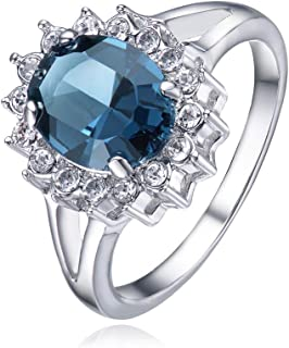 Mestige Women's Windsor Ring with Swarovski Crystals - MSRG3072 (17.3 mm)