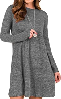 Best grey plus size sweater dress Reviews