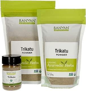 Banyan Botanicals Trikatu Powder - USDA Organic, 1 Pound - Heating & Stimulating - Supports Digestion of Heavy Foods*