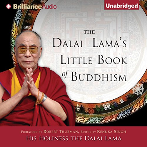Page de couverture de The Dalai Lama's Little Book of Buddhism