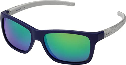 Blue/Gray Specks Frame with Spectron 3CF Lenses