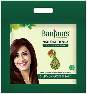 Banjara's Natural Henna Powder With Hair Care Herbs (500 gms)