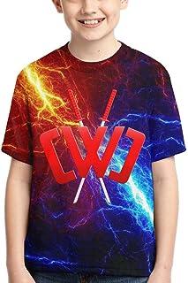 Chad Wild Clay CMC Gamer Flame Kids 3D Print Shirt Video Game