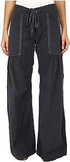Womens Willowy Wide Leg Stretch Poplin Pant