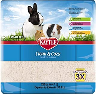 Kaytee Clean & Cozy 250 cu in 4.3 Liters White Small Pet Bedding
