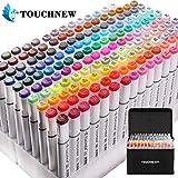 168 color Arte Dibujo Marcadores de Punta Doble - Doble Cara Marcadores del Bosquejo del Rotulador