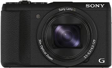 Sony DSC-HX60V/B 20.4 MP Digital Camera with 30x Optical Image Stabilized Zoom, 3