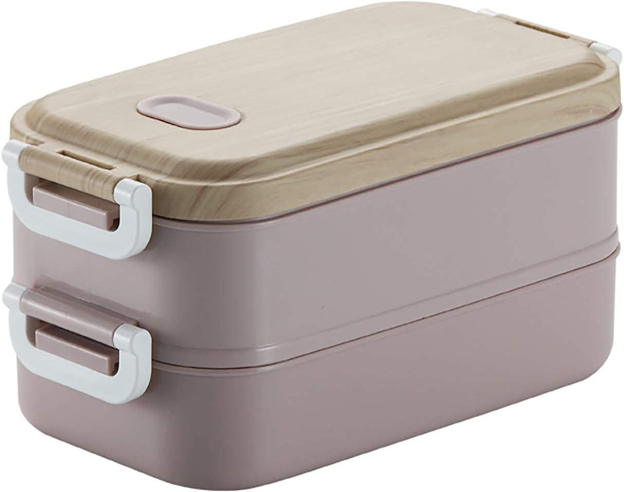YYHOUS Double-Layer Bento Box Stainl Outlet sale feature Tulsa Mall Stainless Steel