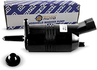 Mean Mug Auto 385-232316A Front Windshield Washer Pump w/Grommet - For: Chevrolet (Chevy), GMC, Buick, Pontiac, Oldsmobile, Isuzu, Cadillac - Replaces OEM #: 22127652, 22127653, 89025062, 89001122