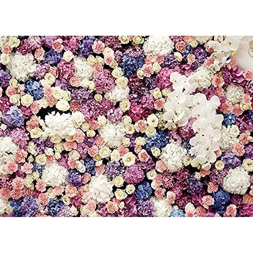 Fotografia di matrimonio sfondo fiori compleanno festa di fidanzamento ritratto sfondo studio fotografico puntelli A11 7x5ft/2.1x1.5m