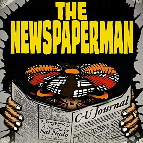 The Newspaperman audiobook cover art