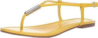 Katy Perry Women's The Jule Flat Sandal, sunflower, 5.5 Medium US