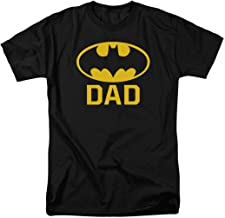 Batman Batdad Classic Logo T Shirt for Father's Day & Stickers