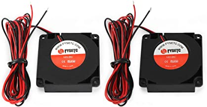 FYSETC 3D Printer CR-10 Parts 4010 Blower 40x40x10mm 12V DC Cooling Fan Extruder Hotend Cooler Radiator Circle Fan for Creality CR-10, CR-10S, S4, S5-2Pcs