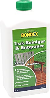 Bondex Teakmöbel-Entgrauer Farblos 1,00 l - 329865