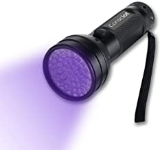 Consciot 51 LED UV Flashlight Black Light 395nm Ultra Violet Blacklight Torch Light Pet Urine Detector for Dry Dog Urine, ...