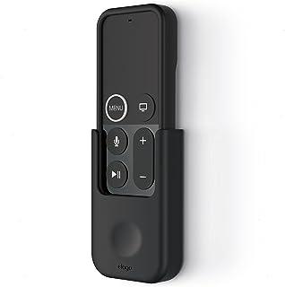 elago Apple TV Remote Holder Mount for Apple TV Siri Remote Control 5th 4K / 4th Generation - Gel Pad or Screw Options, Ke...