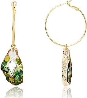 five stone diamond earrings