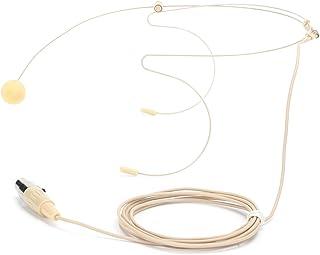 Socobeta 3-stifts klart ljud dammsäkert headset öronkrok mikrofon för scenföreläsare