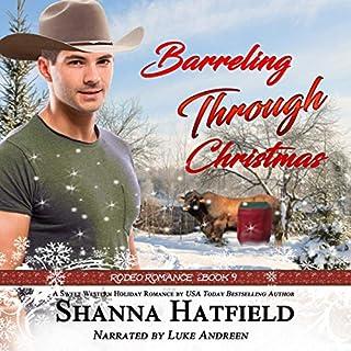 Barreling Through Christmas audiobook cover art