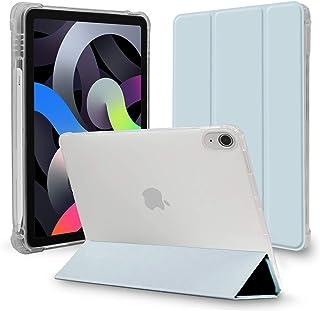 MS factory iPad Air 4 ケース 2020 Apple Pencil ペンシル 収納 衝撃吸収 カバー Air4 10.9 アイパッド エアー 第4世代 ipadair 10.9インチ 軽量 薄型 半透明 ソフトTPU オート...