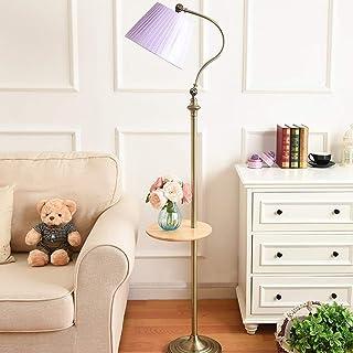 N /A Lampadaire rétro européen 0624P pour salon, chambre à coucher - Couleur : beige