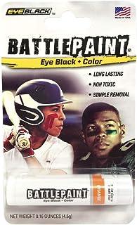 EyeBlack Orange BattlePaint Eye Black Grease