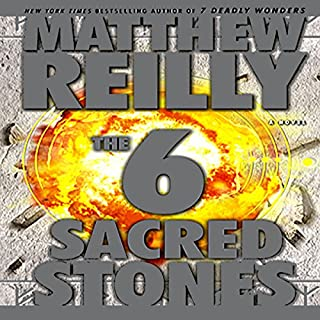 The 6 Sacred Stones audiobook cover art