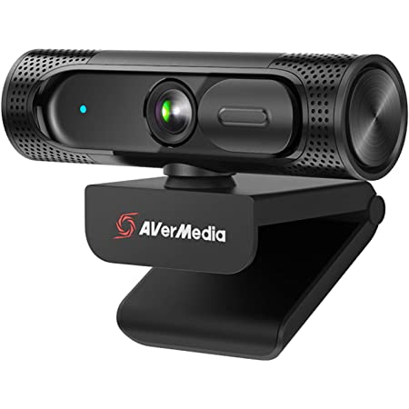 AVerMedia PW315 Webcam - 1080p HD Wide Angle Camera for Video Conferencing, Online Teaching, and Streaming