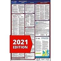 2019 ノースダコタ 労働法ポスター オールインワン OSHA準拠 ND州 連邦ラミネートポスター (26インチ x 40インチ 英語) 職場のコンプライアンス - J. Keller & Associates
