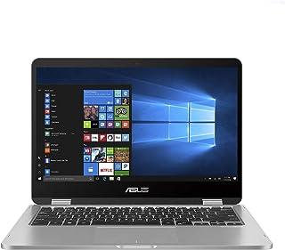 ASUS VivoBook Flip 14 TP401MA-EC340TS (Light Grey)–Intel Celeron N4020 Processor 1.1 GHz, 4GB RAM, Intel® UHD Graphics 60...