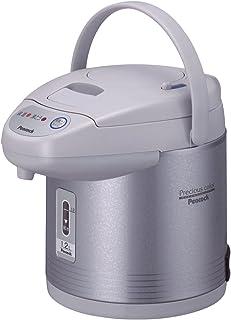 ピーコック 電気沸とうエアーポット(カルキとばし) 1.2L サテングレー WCI-12(HS)