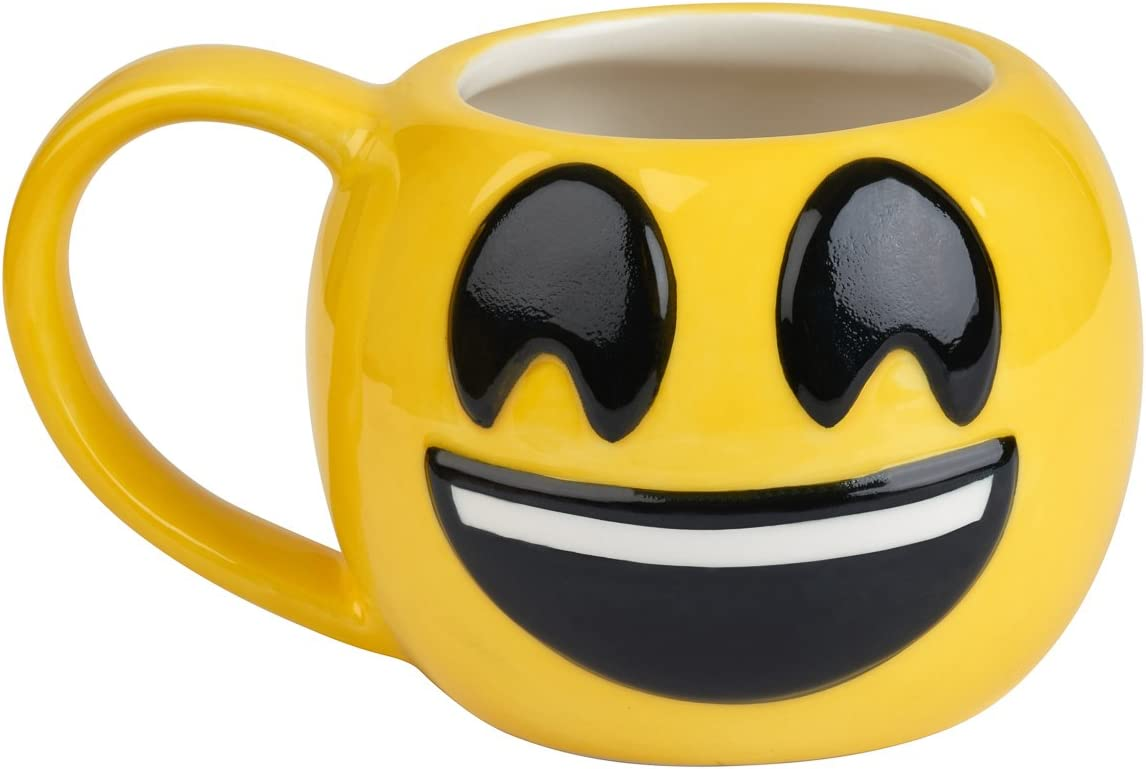 12 oz Brown Town Mug