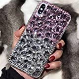 Galaxy 2018 A8Plus Full Big Diamonds Case, Shiny Manual